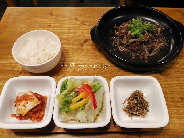 beef  bulgogi, menu di EID   이드 Halal Korean Food - Restoran Korea Halal di Seoul