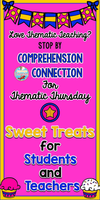 "What a sweet week it is, and this ""Sweet Treats"" theme will have your kids begging for more. Check out the great lesson ideas and freebies in this post."