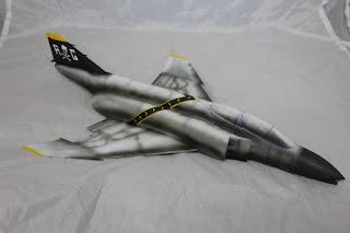 Article détaillant le montage du F-4B Phantom II d'eduard au 1/48.