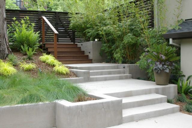 giardino ville e case moderne