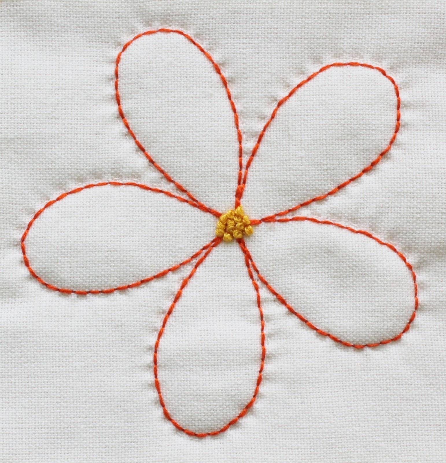 Jen Daly Quilts Orange Blossoms Free Pattern