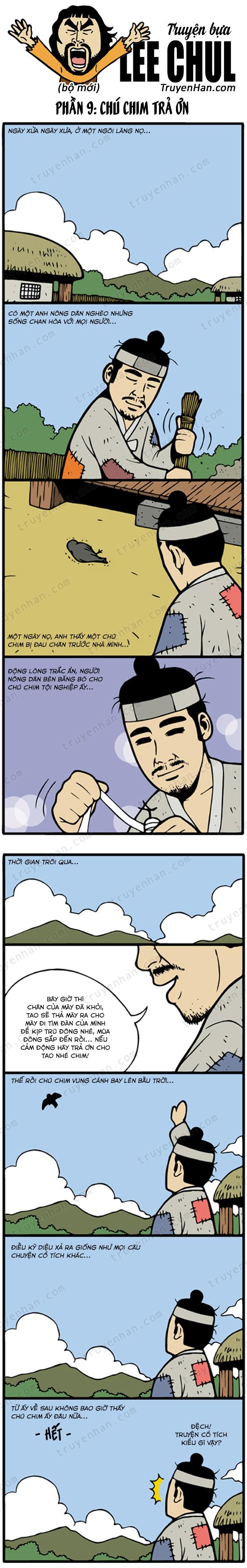 Lee Chul (bộ mới) phần 9: Chú chim trả ơn