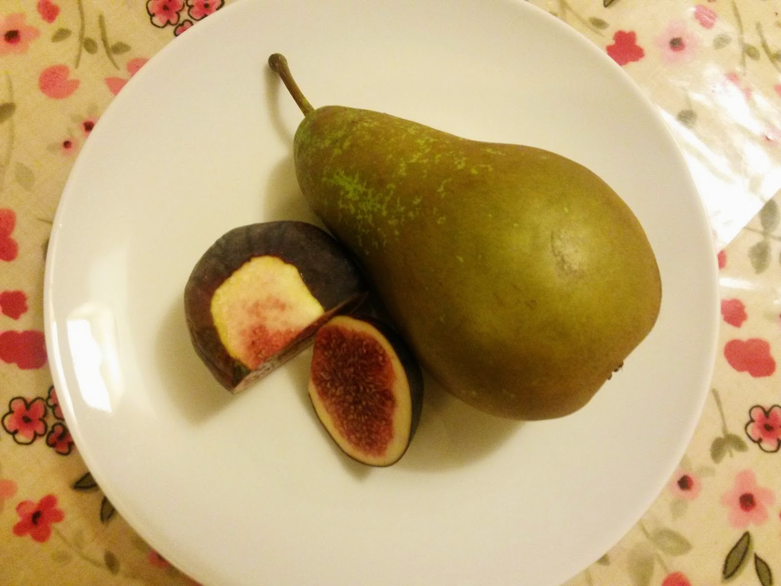 Fig and pear