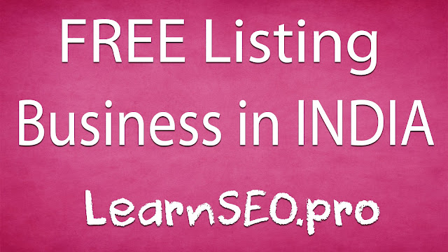 INDIA Business Listing Sites