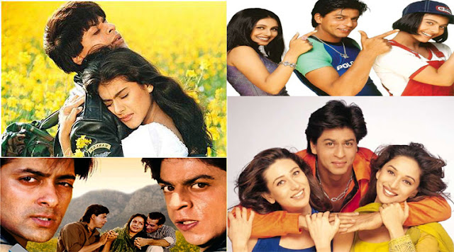 shahrukh khan top 10 movies of 90s