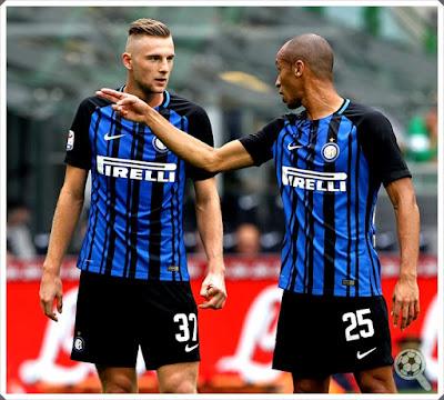 Miranda Milan Skriniar Inter