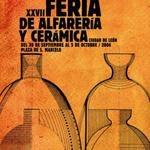 Carteles Feria Alfarería y Cerámica