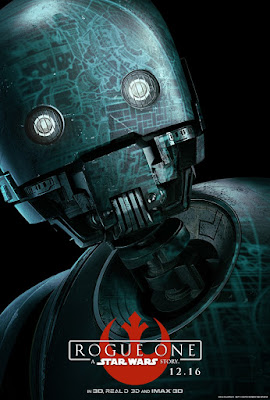 Star Wars Rogue One Theatrical One Sheet Teaser Character Movie Posters