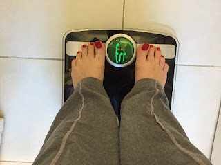 Weighing myself on the scales and they say there is an error