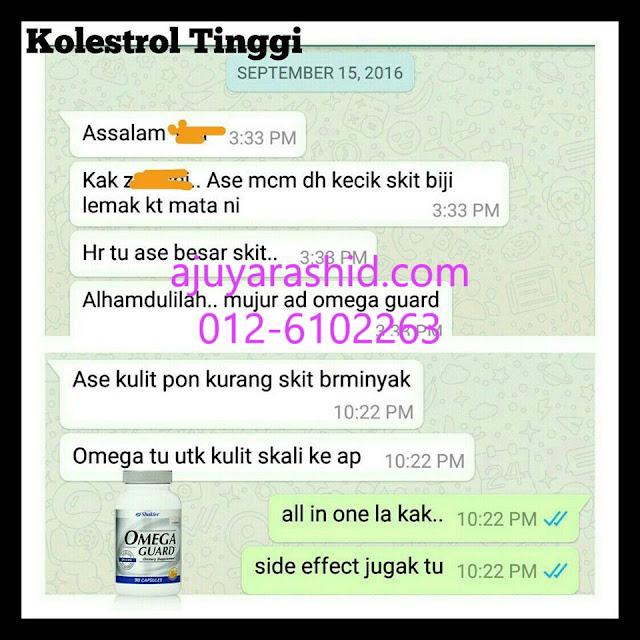 bintil kolesterol