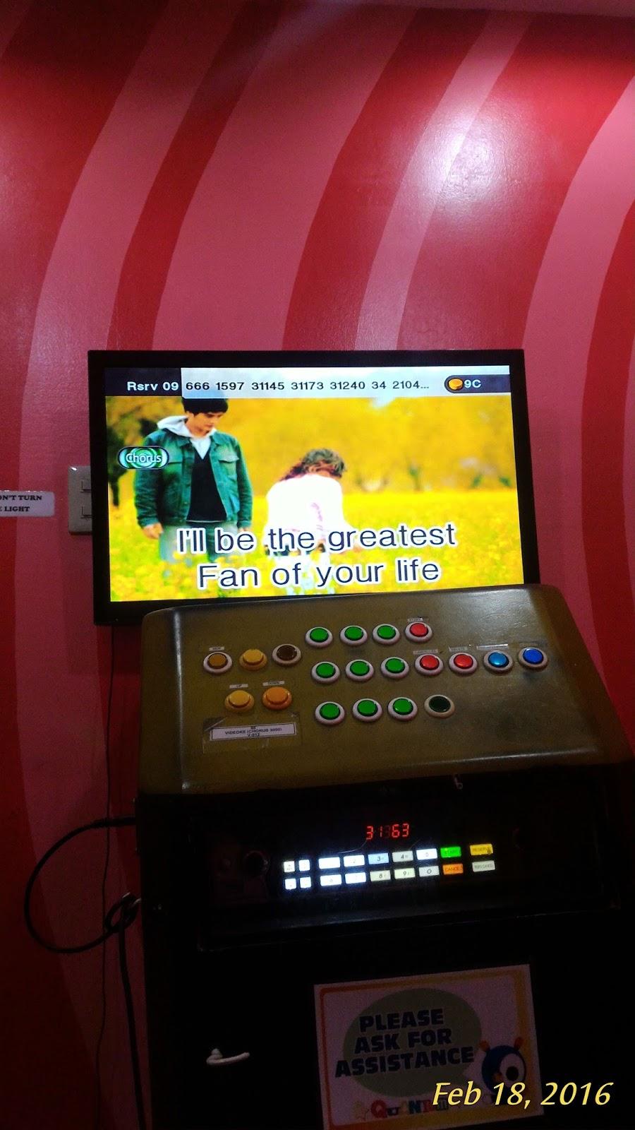 Pagdating ng panahon videoke machine