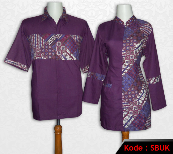 10 Seragam Batik Kantor Sarimbit Modern, Elegan! | Model ...