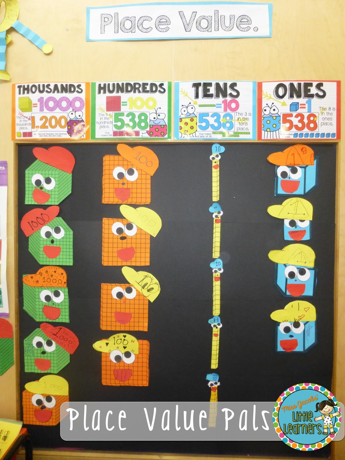 Miss Jacobs Little Learners Place Value Phonemic