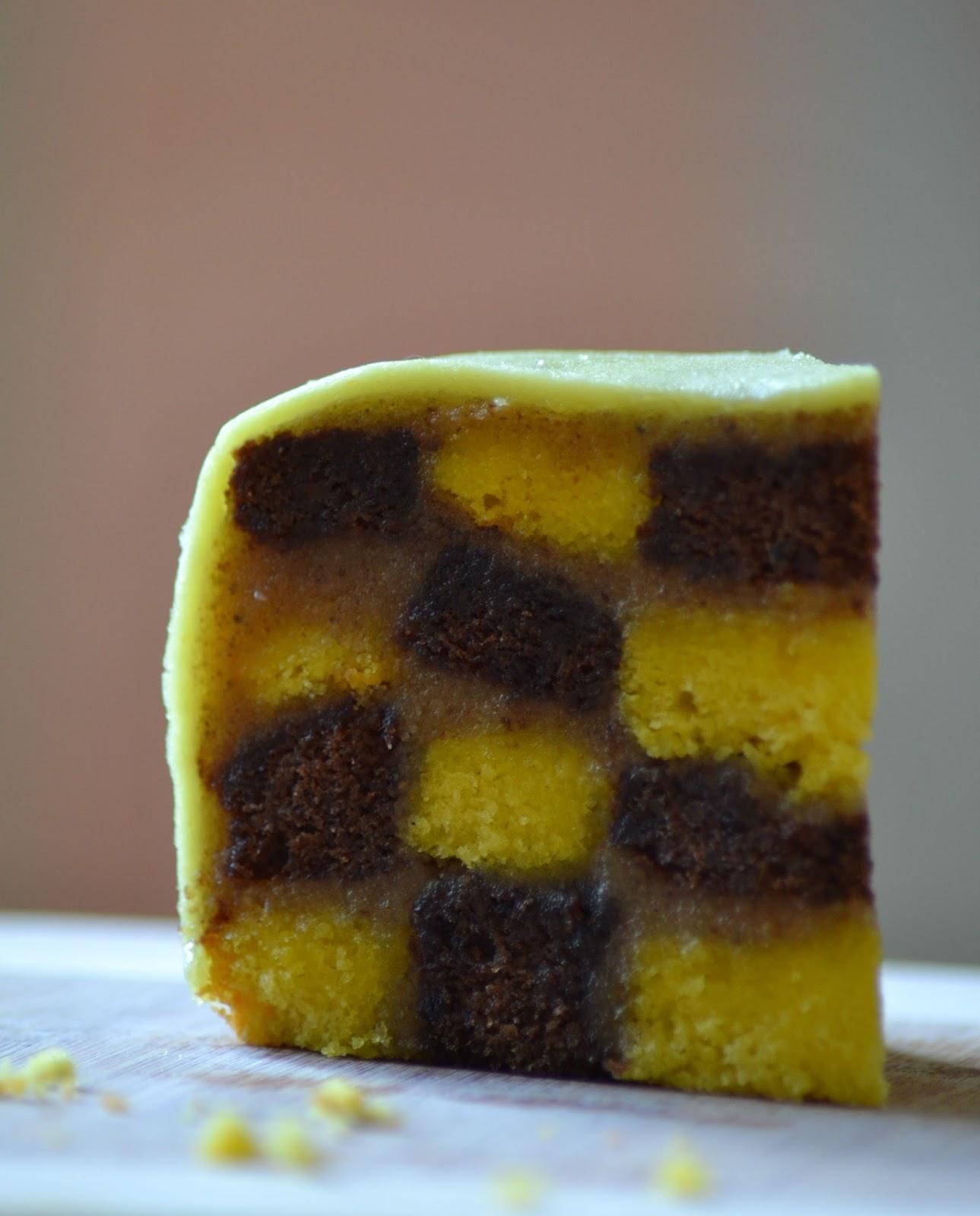 Recept Heel Holland bakt 2015: Battenberg cake