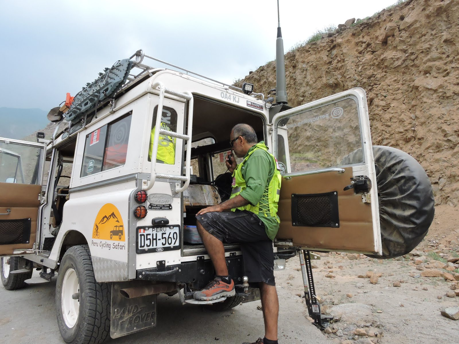HF Radio assisting disaster relief in Peru