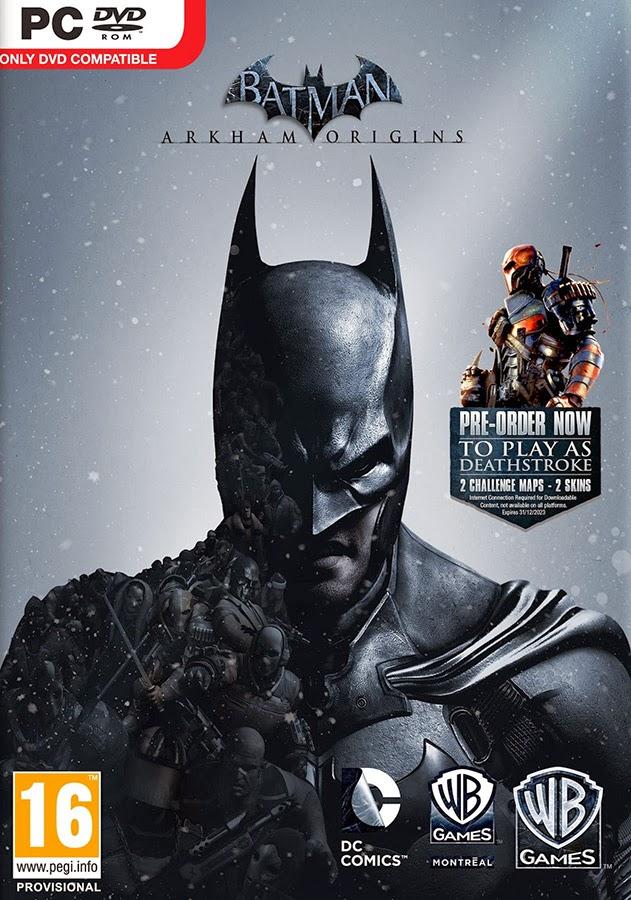 Batman arkham origins pc crack only