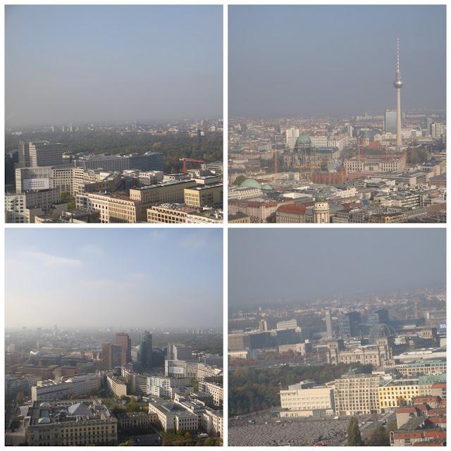 vista panorâmica do balão da Air Service Berlin