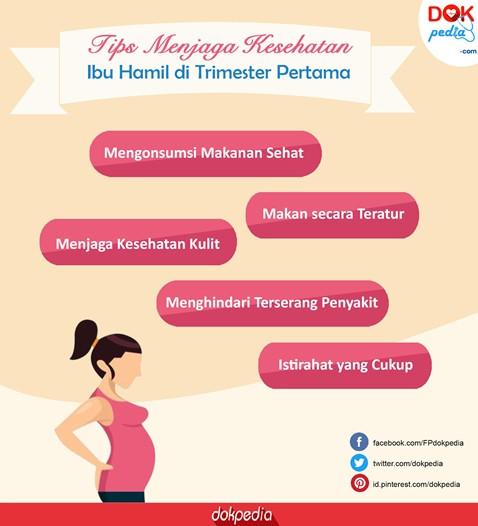 Tips Menjaga Kesehatan Ibu Hamil Di Trimester Pertama