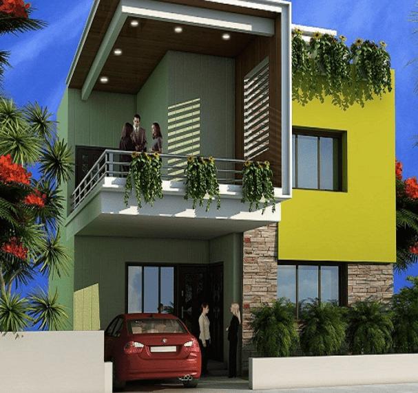 30 Contoh Kombinasi Cat Rumah Minimalis Warna Hijau Yang Nampak Natural Disain Rumah Kita
