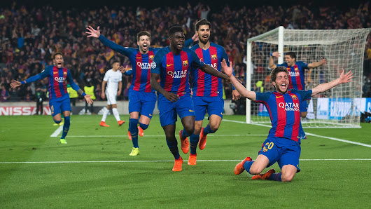 Barcelona pull greatest comeback in CL history with 6-1 win over PSG