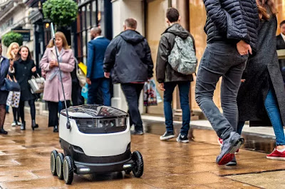 Robots will start delivering food to doorsteps in Silicon Valley and Washington, D.C