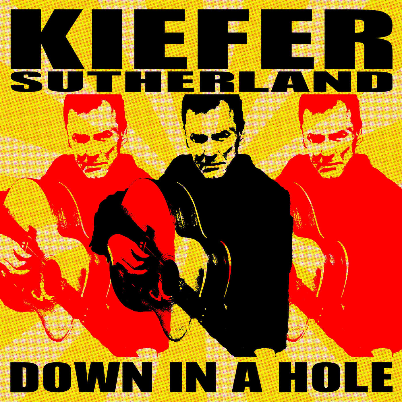 Kiefer Sutherland - Down in a Hole Cover