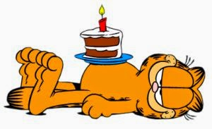 garfield születésnapi képek Garfield és barátai: Boldog Születésnapot (utólag is), Garfield! garfield születésnapi képek