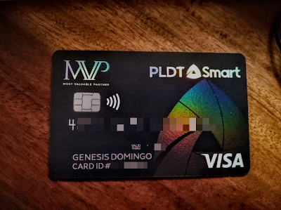 Smart-PLDT MVP Rewards Card Powered by PayMaya