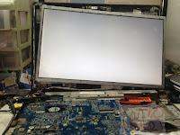 Service Laptop Acer 4752 4750 Layar Blank Putih