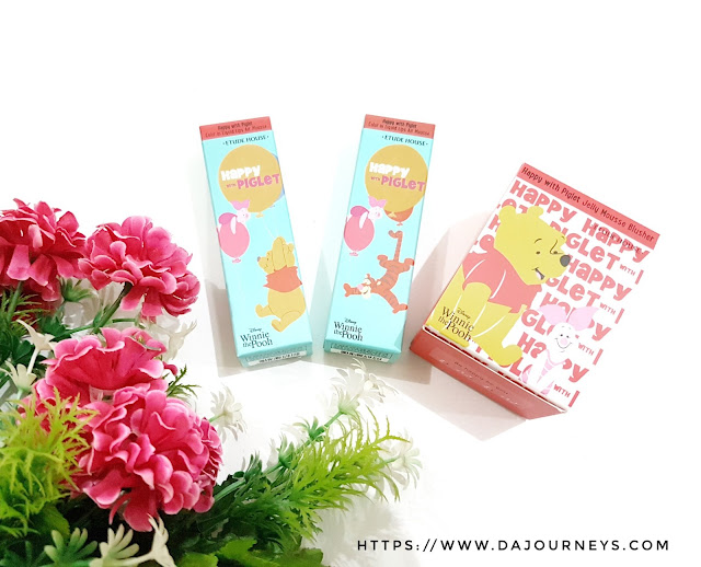 [Review] Etude House Happy With Piglet Series