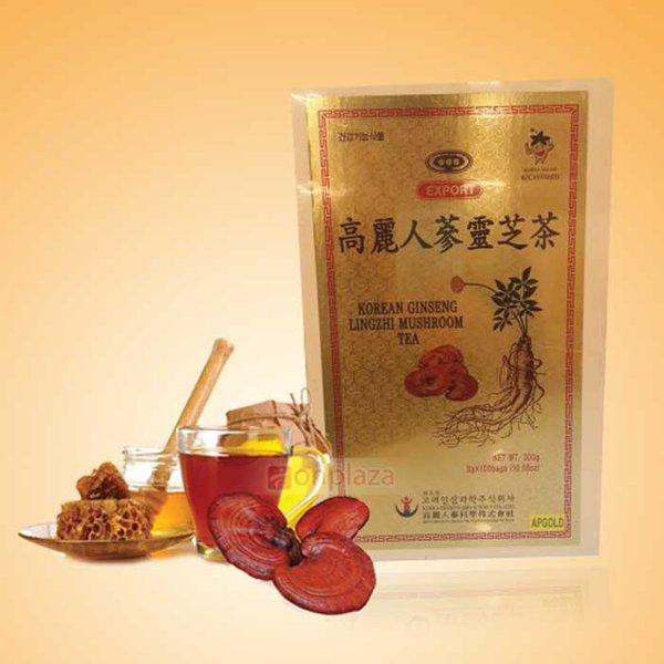 Sử dụng trà linh chi Hàn Quốc