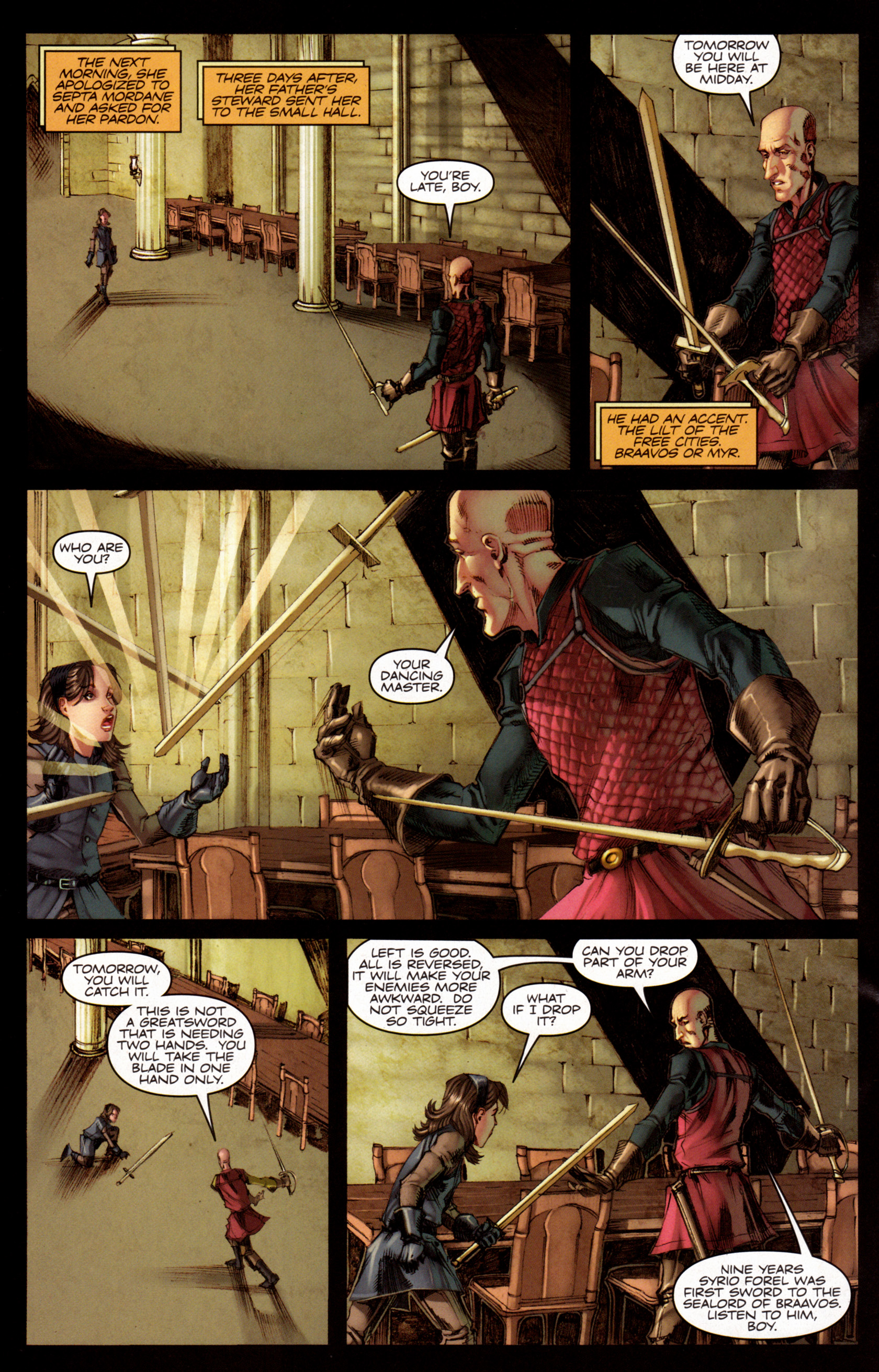 Read online A Game Of Thrones comic -  Issue #7 - 19