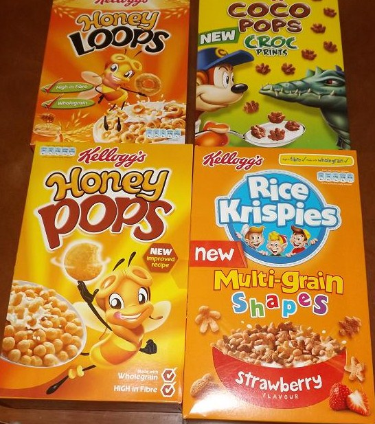 Madhouse Family Reviews: Kellogg's New & Improved Kids