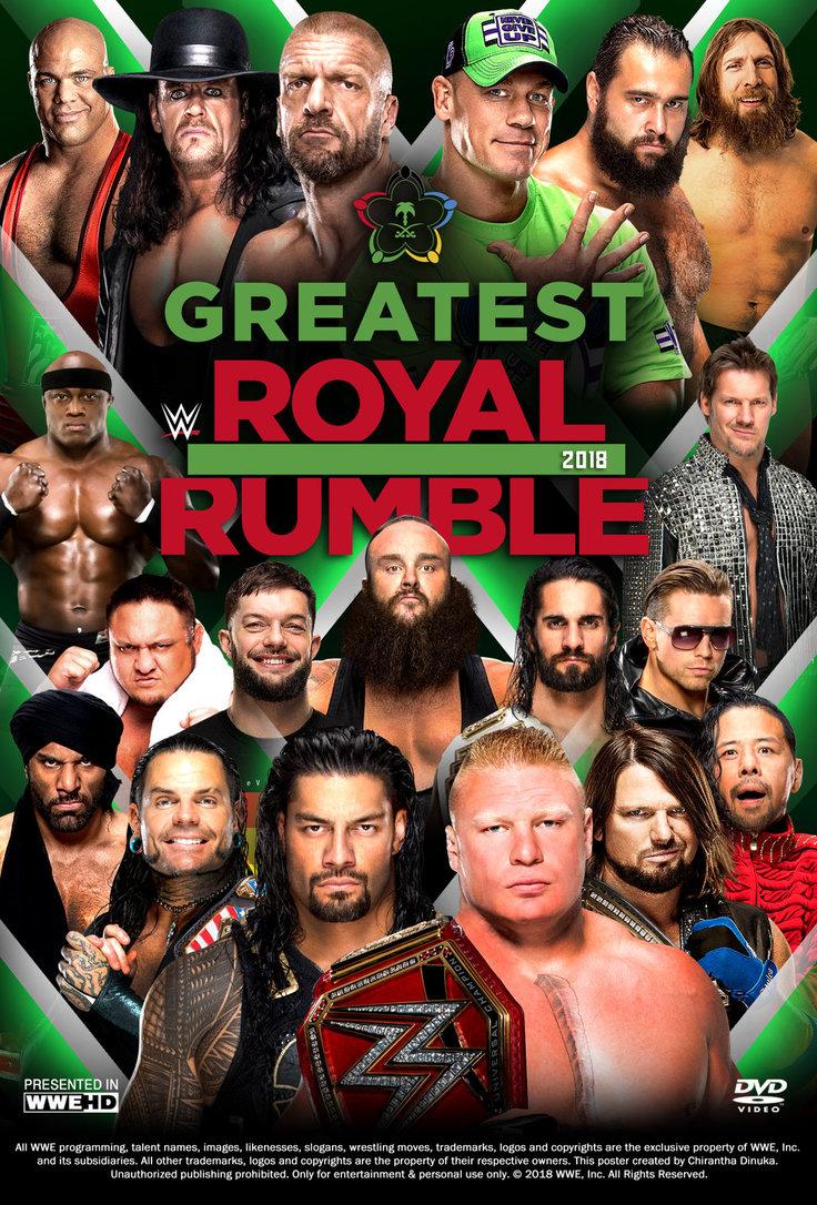 LIGHT DOWNLOADS: WWE Greatest Royal Rumble 2018 480p .mkv