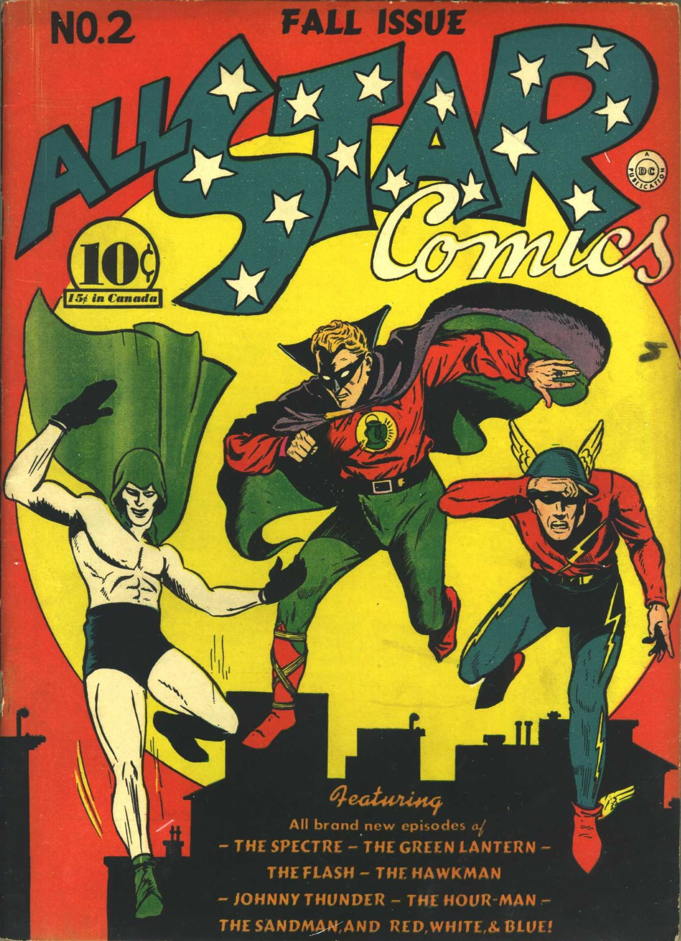 Read online All-Star Comics comic -  Issue #2 - 1