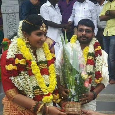 director-raju-murugan-married-vj-hema-sinha-on-september-4th