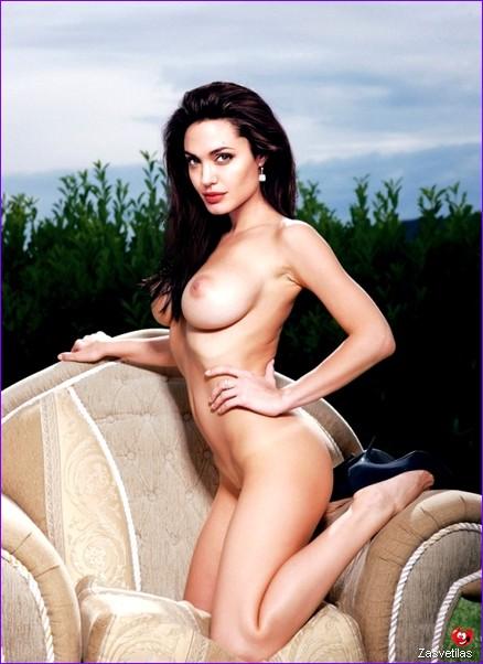 Анджелина Джоли интим фото