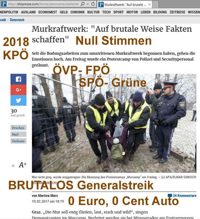 Google Sargnagel Graz Generalstreik Murkraftwerk Brutalos