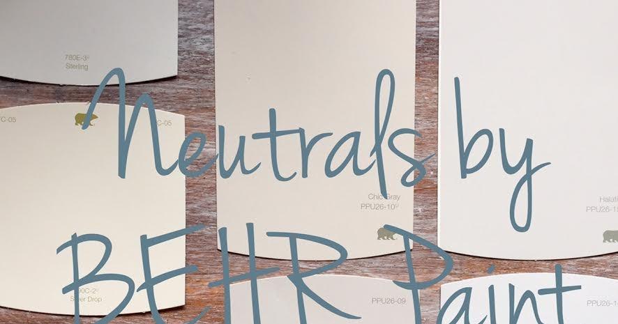 Neutrals by behr paint for Behr whites and neutrals