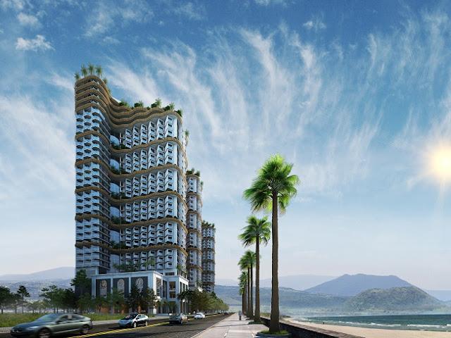 Kiến trúc Royal Marina Center Nha Trang