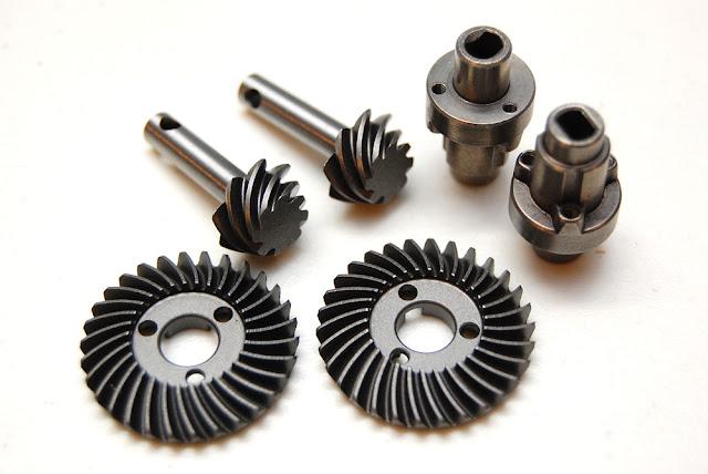 Axial SCX10 II Steel Diff Gears