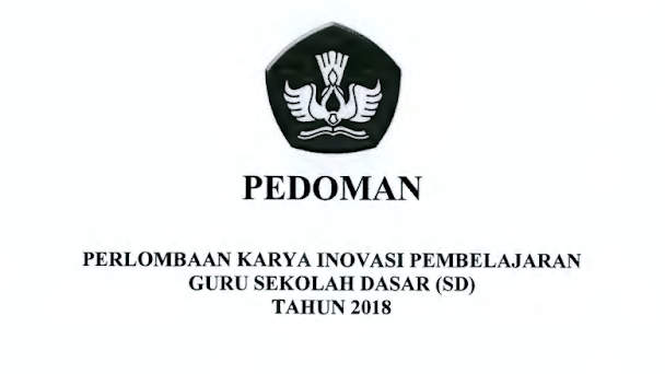 Download Pedoman INOBEL Guru SD Tahun 2018 format PDF