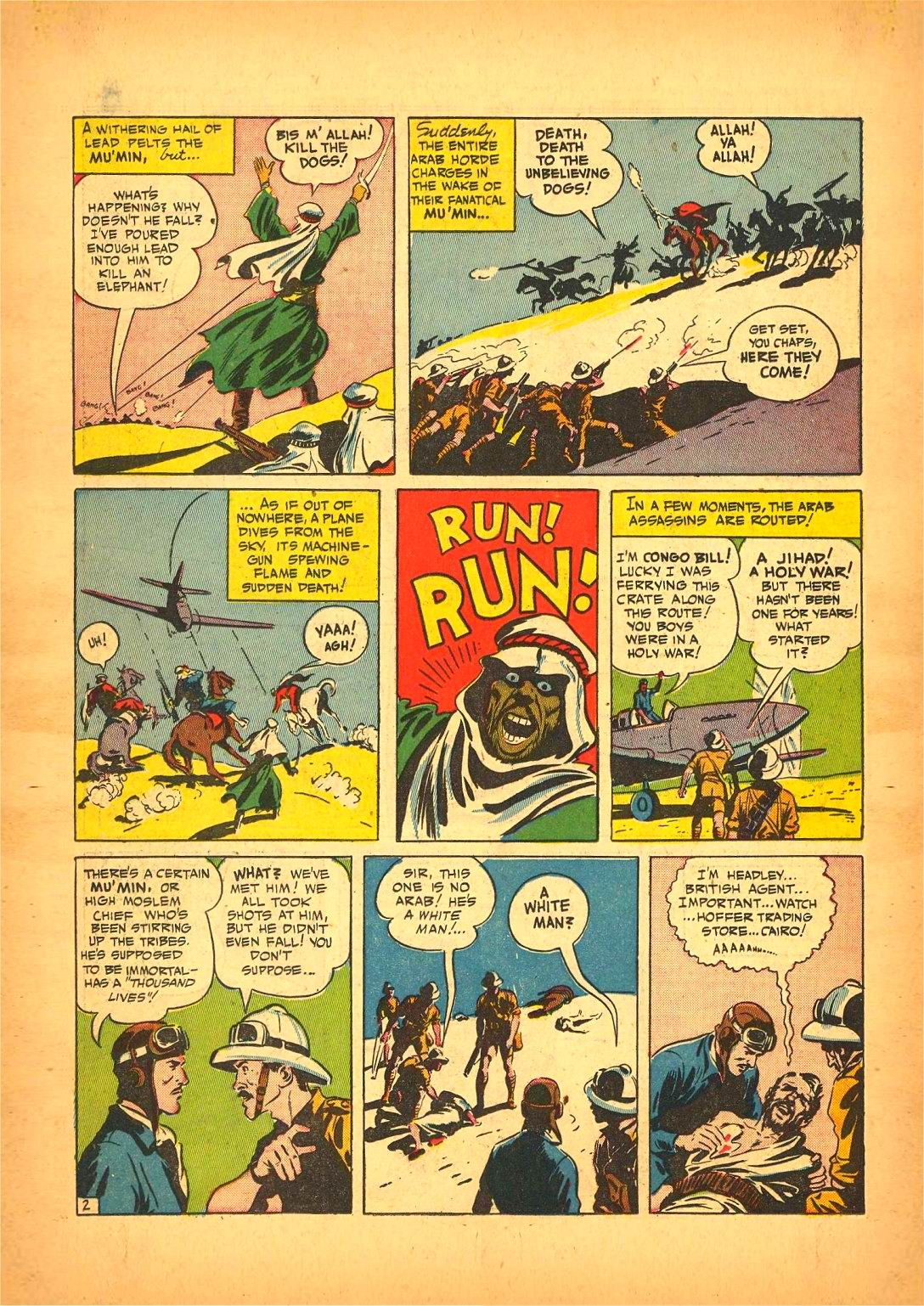 Read online Action Comics (1938) comic -  Issue #50 - 58