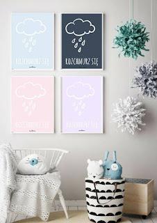 pastelowe plakaty do druku