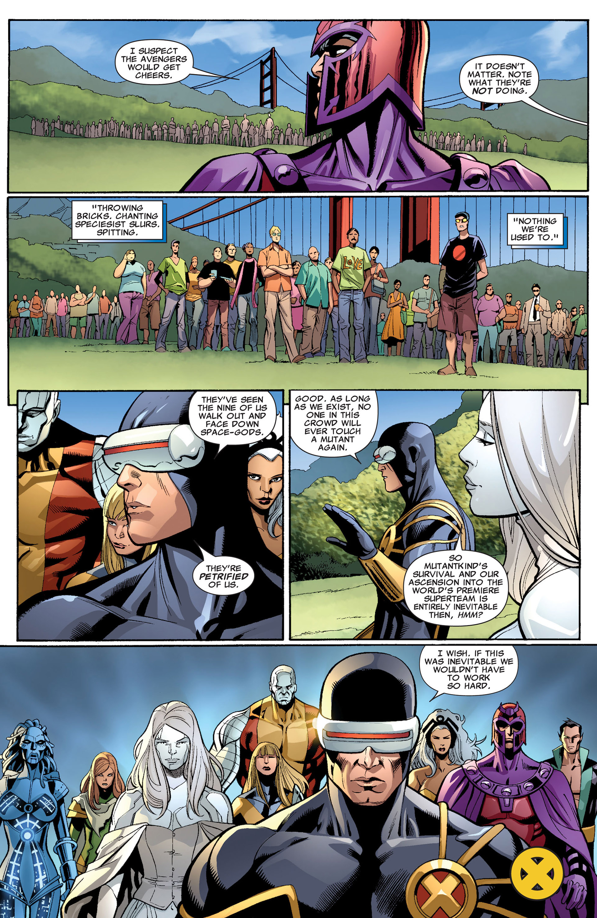 Read online Uncanny X-Men (2012) comic -  Issue #3 - 23