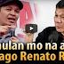 Duterte May Banta sa Buhay ni Renato Reyes