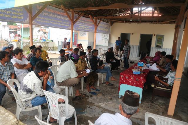 Sapta Pesona pada Sosialisasi Kelompok Sadar Wisata di Desa Telaga Biru