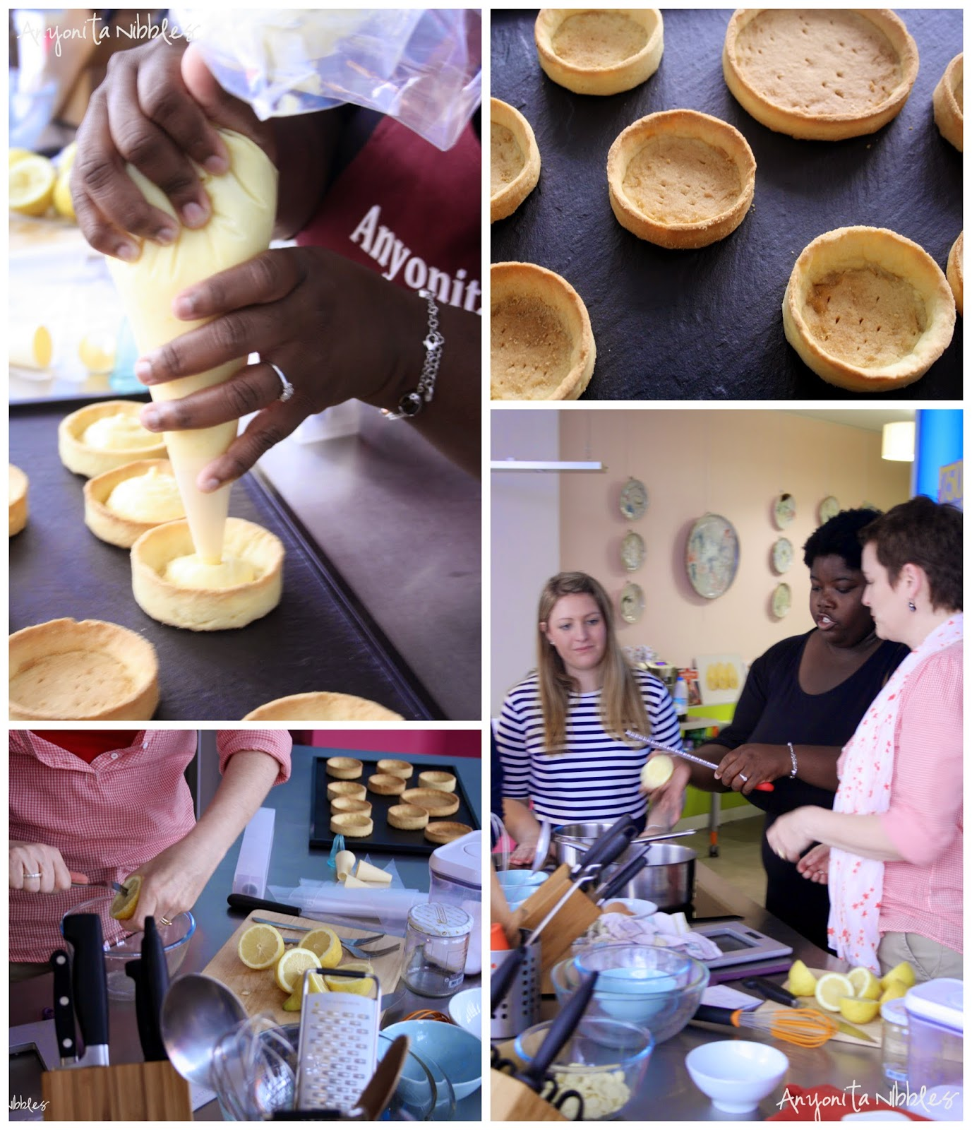 Making Lemon Meringue Tarts in Paris by Anyonita Nibbles