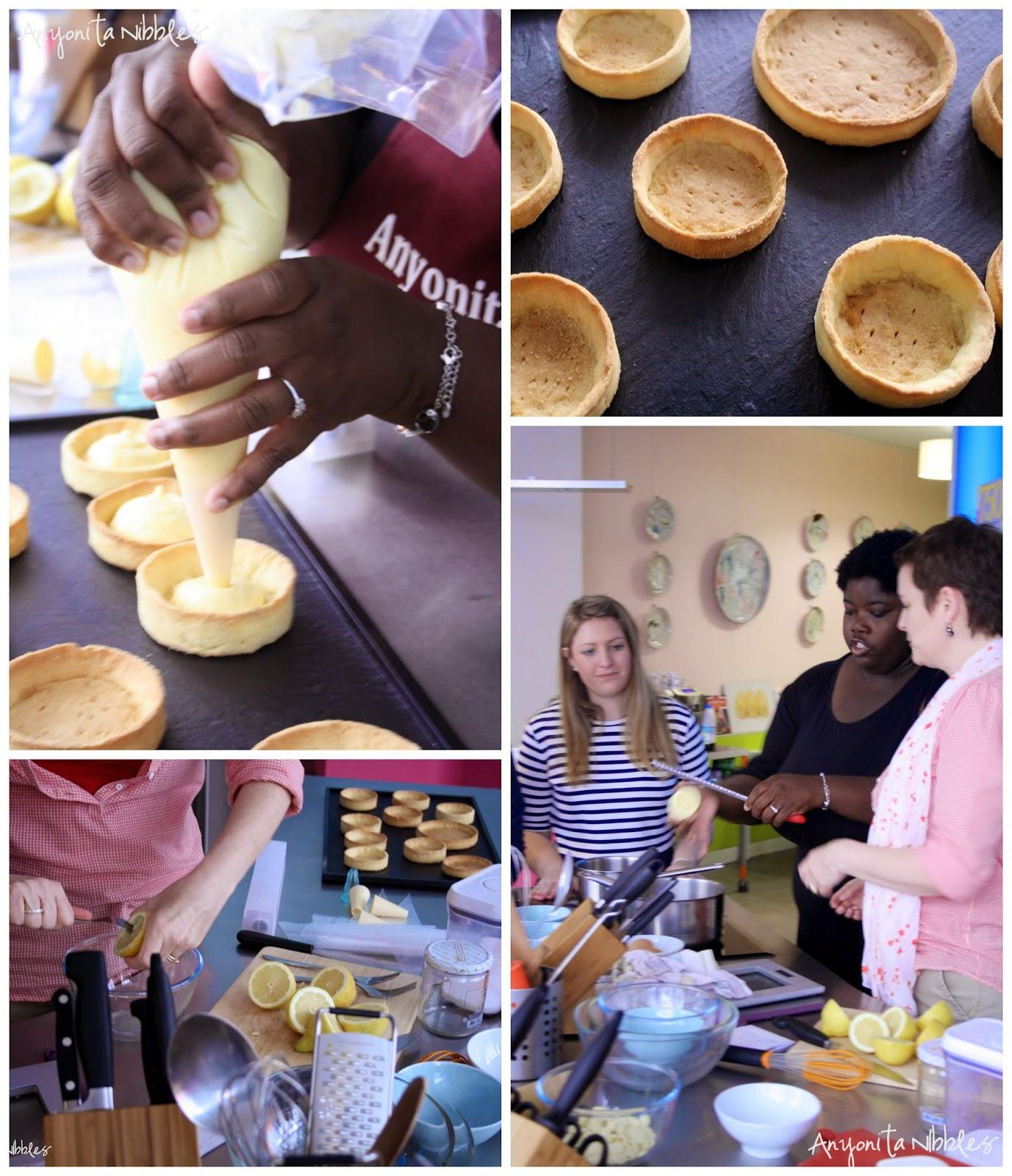 Making Lemon Meringue Tarts in Paris by Anyonita Nibbles