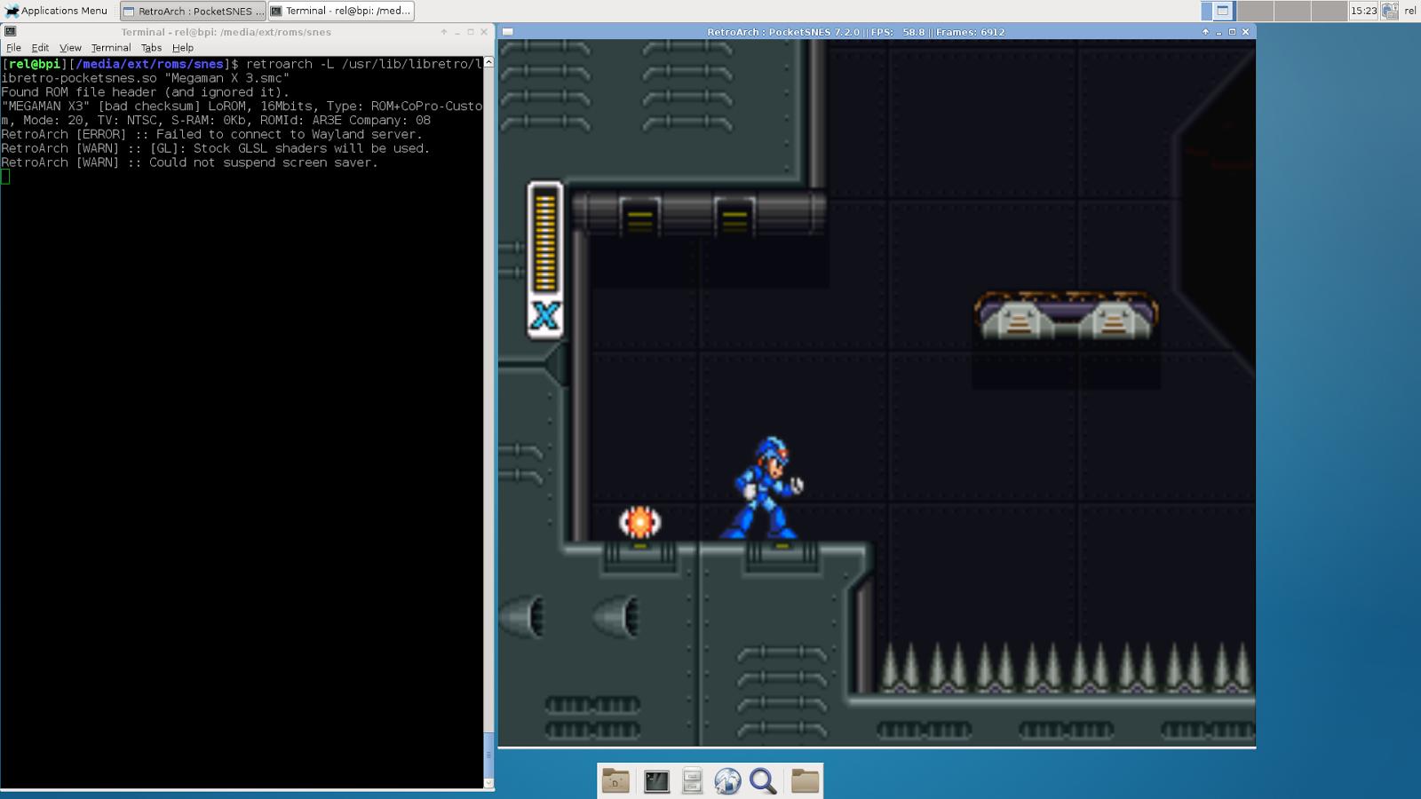 Banana Pi / Arch Linux / SNES emulation using RetroArch
